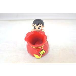 ブルース・リー 李小龍 赤 ペン立て 樹脂製置物|ryu