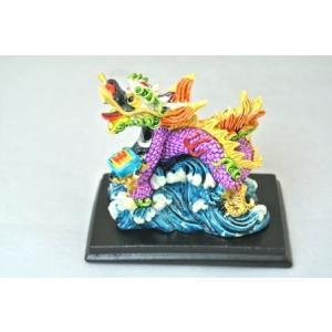 龍 カラフル 樹脂製 印 総合運アップ 幸運のシンボル ryu