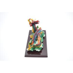 龍 カラフル 樹脂製置物 台座付き 中|ryu|03
