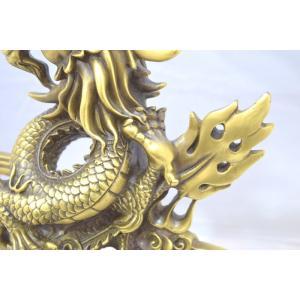 龍 竜 銅製置物 雲乗り 特大|ryu|14