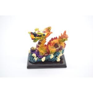 龍 カラフル 樹脂製 如意棒 総合運アップ 幸運のシンボル ryu