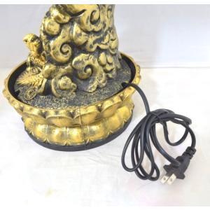 龍 竜 黄金雲龍 噴水置物 樹脂製 インテリア|ryu|10