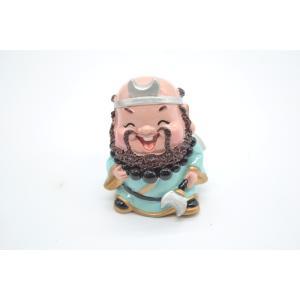 沙悟浄 西遊記 樹脂製置物 マスコット人形 7cm|ryu