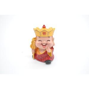 三蔵法師 西遊記 樹脂製置物 マスコット人形 7cm|ryu
