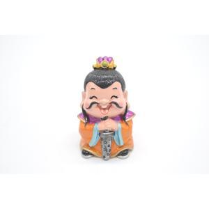 三国志 劉備 樹脂製置物 マスコット人形 かわいい人形置物 7cm|ryu