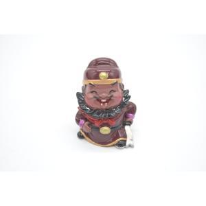 三国志 張飛 樹脂製置物 マスコット人形 かわいい人形置物 7cm|ryu