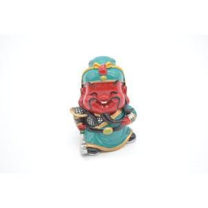 三国志 関羽 樹脂製置物 マスコット人形 かわいい人形置物 7cm|ryu