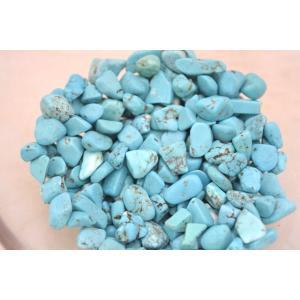ハウライトトルコ石 ハウライトターコイズ 染色マグネサイト チップ さざれ石 浄化 250g 超激安|ryu|02