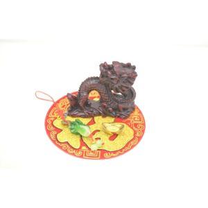 龍 元宝 白菜 福飾り金運 初めての風水セット|ryu
