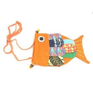 カラバリ豊富! お魚ポーチ アジアン エスニック|ryu