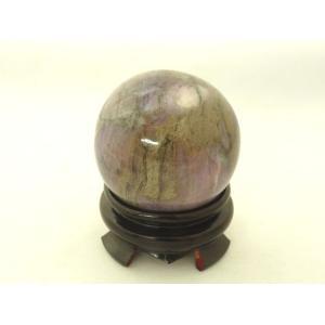 スギライト 杉石 思考力 洞察力 霊力UP パワーストーン 球体 台座つき 置物|ryu
