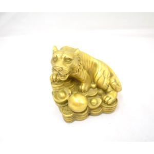 虎 置物 開運風水インテリア 厄除け 縁起物 銅製 寅 トラ とら 置物|ryu