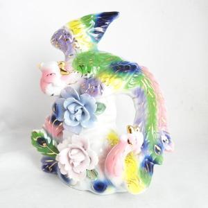 鳳凰の舞 陶器製置物 願望成就|ryu