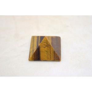 タイガーアイ 虎目石 ピラミッド パワーストーン 天然石置物 小|ryu|02
