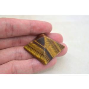 タイガーアイ 虎目石 ピラミッド パワーストーン 天然石置物 小|ryu|05