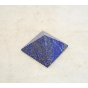 ラピスラズリ 瑠璃石 ピラミッド パワーストーン 天然石置物  小|ryu