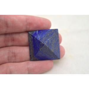 ラピスラズリ 瑠璃石 ピラミッド パワーストーン 天然石置物  小|ryu|05