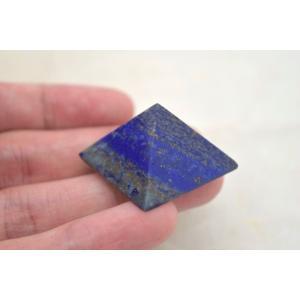 ラピスラズリ 瑠璃石 ピラミッド パワーストーン 天然石置物  小|ryu|06