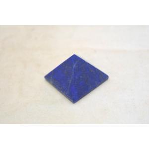 ラピスラズリ 瑠璃石 ピラミッド パワーストーン 天然石置物 濃藍 小|ryu|02