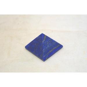 ラピスラズリ 瑠璃石 ピラミッド パワーストーン 天然石置物 濃藍 小|ryu|03