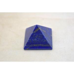 ラピスラズリ 瑠璃石 ピラミッド パワーストーン 天然石置物 濃藍 小|ryu|04