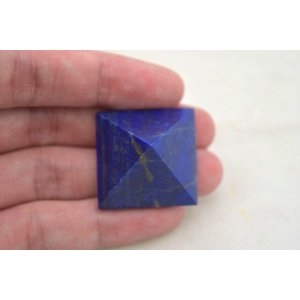 ラピスラズリ 瑠璃石 ピラミッド パワーストーン 天然石置物 濃藍 小|ryu|05