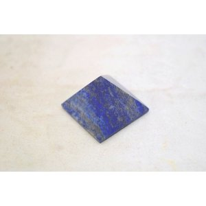 ラピスラズリ 瑠璃石 ピラミッド パワーストーン 天然石置物 雲模様 小|ryu|02