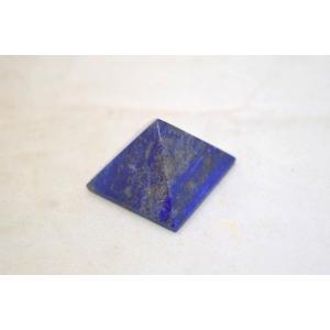 ラピスラズリ 瑠璃石 ピラミッド パワーストーン 天然石置物 雲模様 小|ryu|03