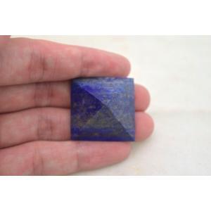ラピスラズリ 瑠璃石 ピラミッド パワーストーン 天然石置物 雲模様 小|ryu|04