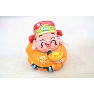 財神 元宝 アジアの神々 マスコット人形 樹脂製置物 中|ryu