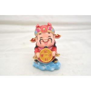 財神 アジアの神々 人形置物 古銭 招財進宝 樹脂製置物 招財進宝 中 7cm|ryu