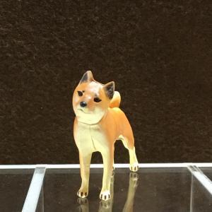 ∝ フルタ チョコエッグ ペット動物コレクション 001 柴犬 フィギュア|ryuden