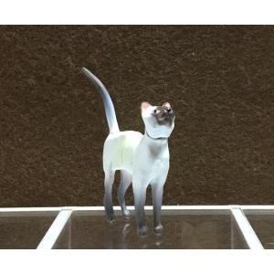 ∝ フルタ チョコエッグ ペット動物コレクション 003 シャム シールポイント フィギュア|ryuden
