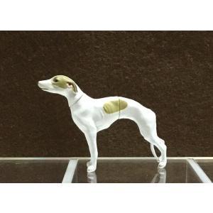 ∝ フルタ チョコエッグ ペット動物コレクション 009 ウィペット フォーン&ホワイト フィギュア|ryuden