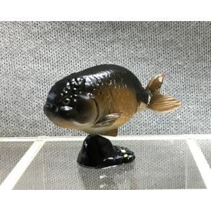 ∝ フルタ チョコエッグ ペット動物コレクション 019 らんちゅう 黒 フィギュア|ryuden