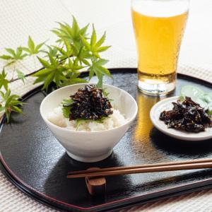 うず潮が育てた めかぶのうま煮 ごま 70g 丁井 のし|ryugu-choi