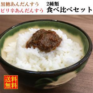 黒糖あんだんすう ピリ辛あんだんすう 油みそ アンダンスー あんだんすー 100g×各2パックセット ご飯のお供 肉味噌 送料無料 ryugu