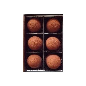 生キャラメルショコラ 6個入 送料無料 お菓子 洋菓子 スイーツ ギフト 贈り物 誕生日 とろける チョコ しょこら ひとくちサイズ 自分用にも人気の画像