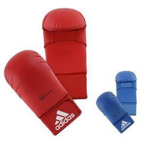 ■製品特徴 アディダス(adidas) WKF公認 拳サポーター 親指無し  セットの価格です。  ...