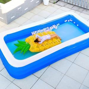 ビニールプール 家族プール 大型プール 子供のプール 収納可能便利プール 夏休み 家族用庭の水泳ビッ...
