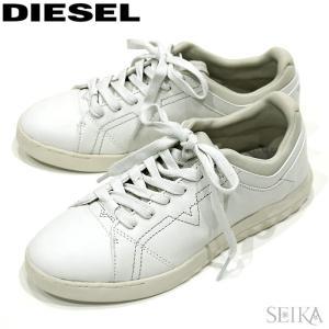 ディーゼル スニーカー (1) Y01451 PR215 T1003 ホワイト メンズ 白 シューズ 靴 ローカット アパレル ギフト|ryus-select