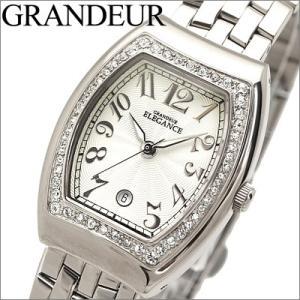 【当店ならお得クーポンあり】グランドール レディース 腕時計 ホワイト【EHU011W1】 ryus-select