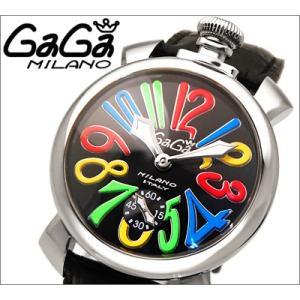 【商品入れ替えクリアランス】 ガガミラノ GaGa MILANO 時計 腕時計 5010.02 メンズ (自動巻き)|ryus-select