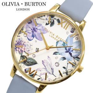 オリビアバートン OLIVIA BURTON 時計 (101)OB16BF21腕時計 レディース 38mm 花柄 チョークブルー レザー ギフト(新生活)|ryus-select