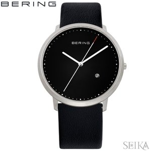 (レビューを書いて5年保証) 時計 ベーリング 11139-402 (24) 腕時計 メンズ レザー 父の日|ryus-select