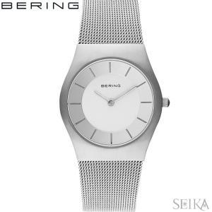 (レビューを書いて5年保証) 時計 ベーリング 11930-001 (27) 腕時計 レディース メッシュ|ryus-select