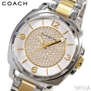 コーチ/レディース 時計(14501998) シルバー×ゴールド/クリスタル|ryus-select