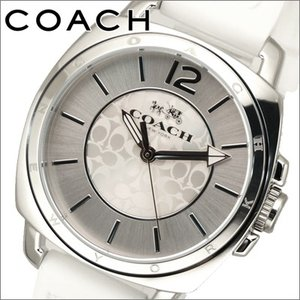 (5年保証) コーチ レディース 時計 14502093 ホワイトラバー|ryus-select