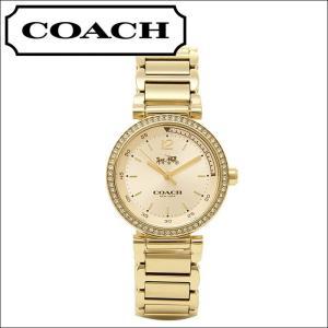 コーチ/レディース 時計(14502195) ゴールド/クリスタルベゼル|ryus-select