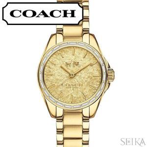 (5年保証) (クリアランス) コーチ COACH トリステン レディース 時計 (14502460) ゴールド|ryus-select
